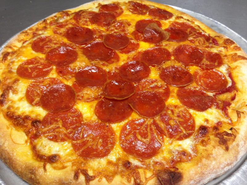 8 buck pizza plus try our specialty pizzas. Black Bedroom Furniture Sets. Home Design Ideas